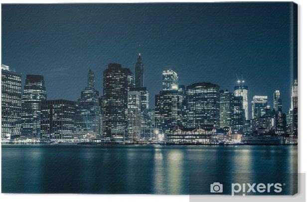 Tableau sur toile Horizon de New York -