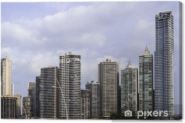 Tableau sur toile Horizon Panama City, Panama. - Amérique