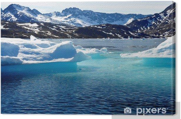 Tableau sur toile Iceberg - Europe