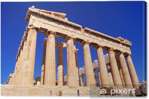 Tableau sur toile Iconic Athènes repère Le Parthénon, en Grèce - Thèmes