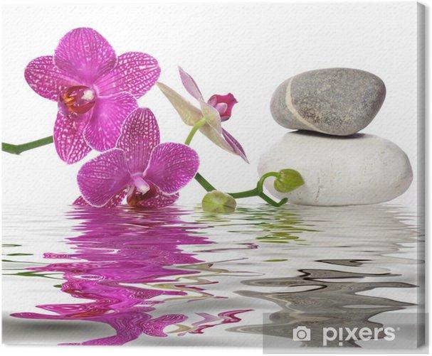 Tableau sur toile Il vous suffit de belles orchidées - Bestsellers
