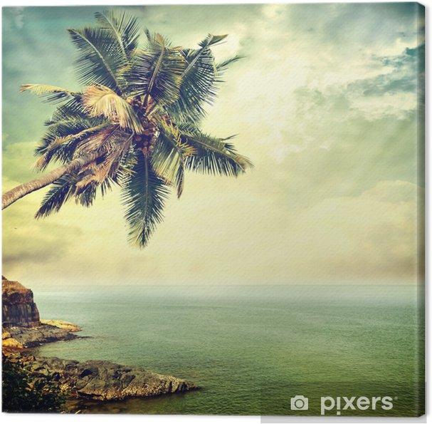 Tableau sur toile Île tropicale -
