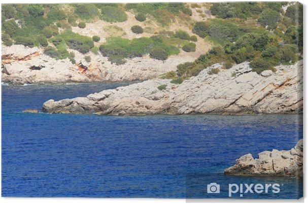 Tableau sur toile Îles Kornati - Europe