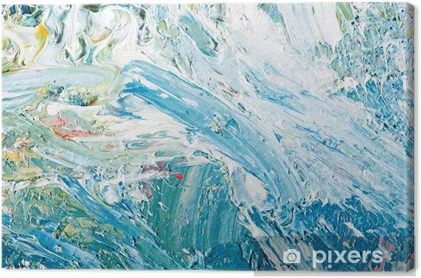 Tableau sur toile Illustration peinture abstraite de fond - Passe-temps et loisirs