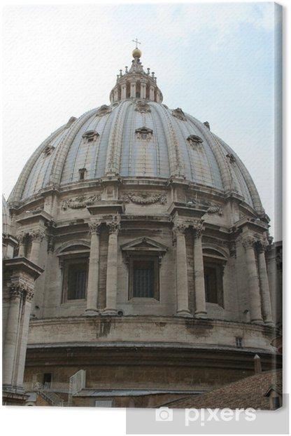 Tableau sur toile Ils Vatican - Villes européennes