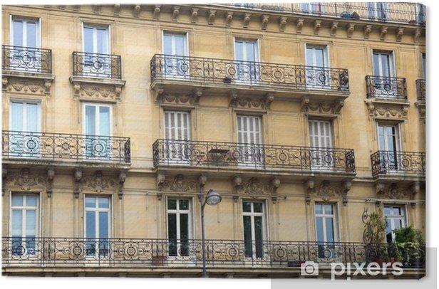 Tableau Sur Toile Immeuble Parisien Pixers Nous Vivons Pour Changer