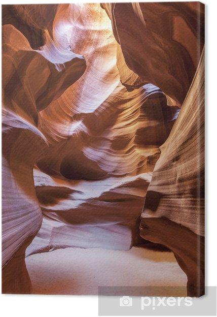 Tableau sur toile Inside Antelope canyon - Amérique
