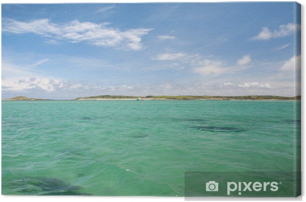 Tableau sur toile Isles of Scilly, Cornwall - Europe