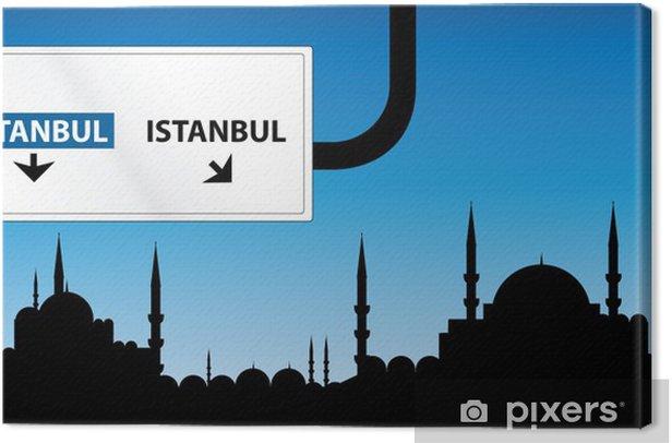 Tableau sur toile Istanboul - Moyen Orient