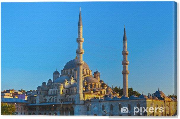 Tableau sur toile Istanbul coucher du soleil - Vacances