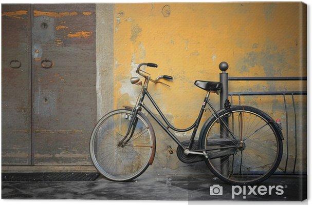 Ancienne Bicyclette tableau sur toile italienne ancienne bicyclette • pixers® - nous