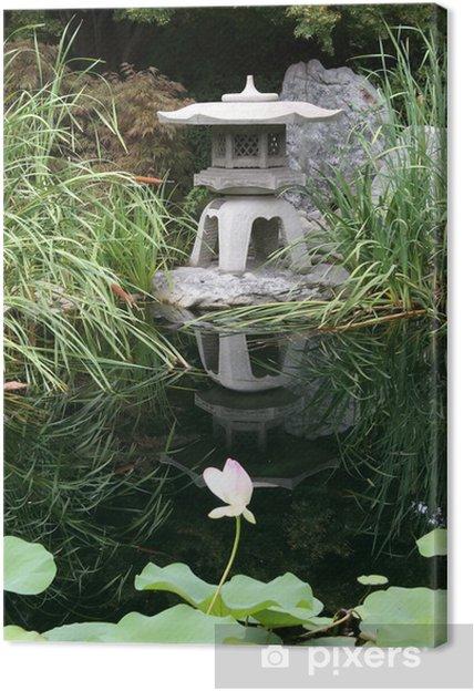 Tableau sur toile Japanese garden - Monuments