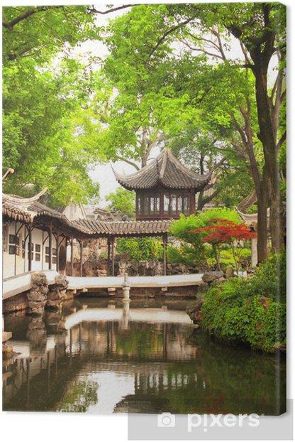 Tableau sur toile Jardin de l'Humble Administrateur de Suzhou, Chine - Asie
