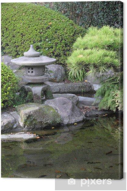Tableau sur toile Jardin zen - Religion