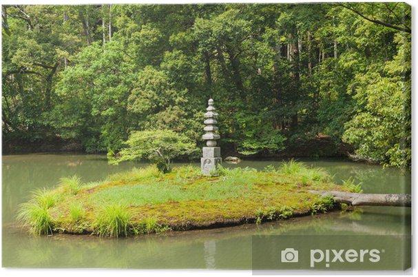 Tableau sur toile Jardin zen - Asie