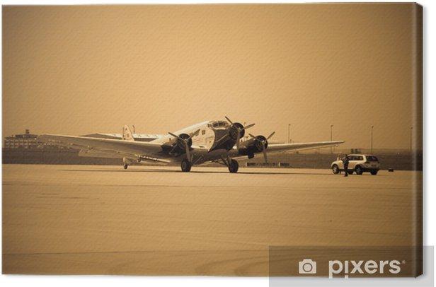 Tableau sur toile Ju 52 à Leipzig - Dans les airs
