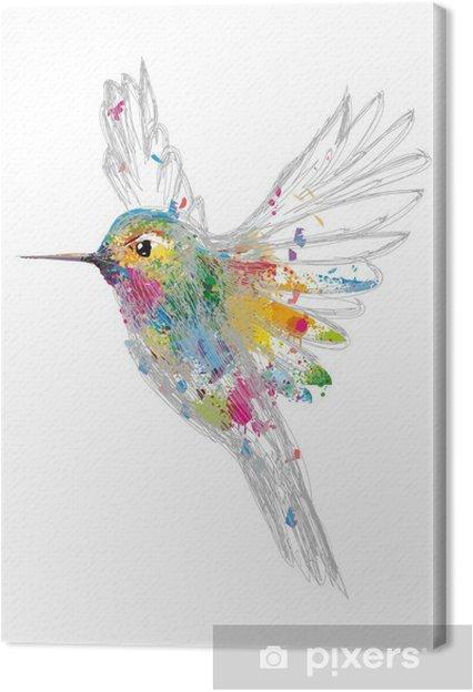 Tableau sur toile Kolibri - science &; nature