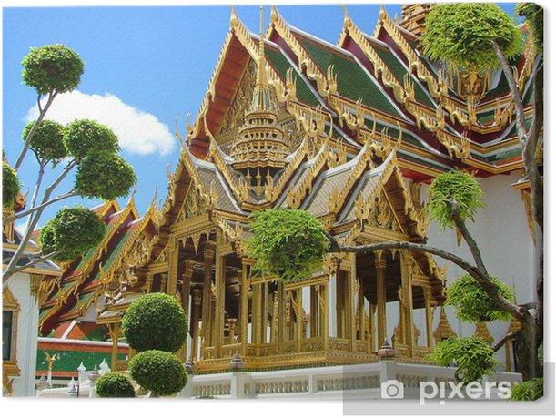 Tableau sur toile Königspalast Bangkok, Thaïlande -