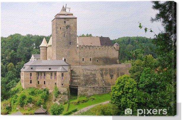 Tableau sur toile Kost Burg - château Kost 02 - Europe