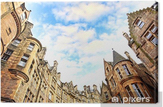 Tableau sur toile L'architecture Edimbourg - Thèmes