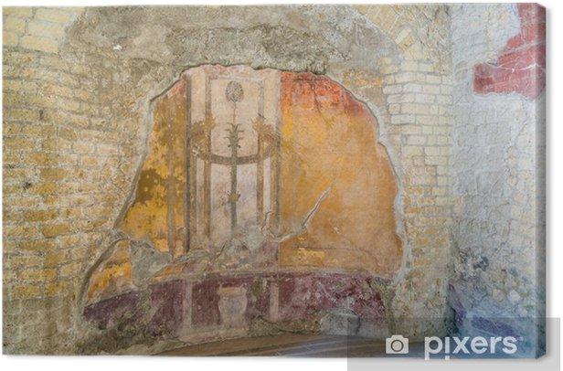 Tableau sur toile La Belle illustration immuable et Design de l'ancienne Herculanum - Europe