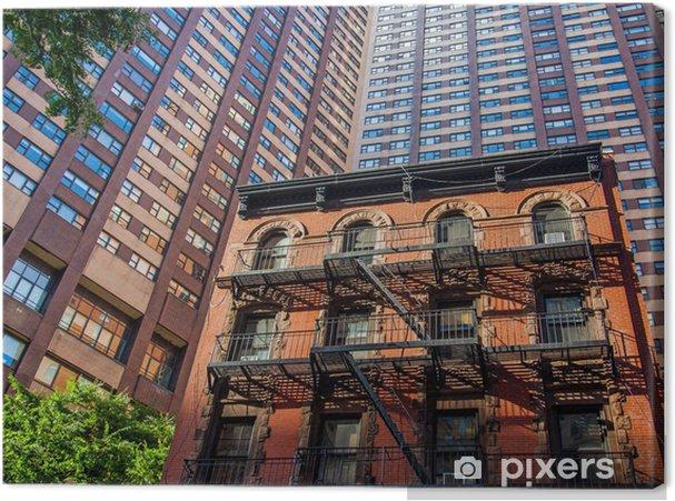 Tableau sur toile La construction à New York - Autres