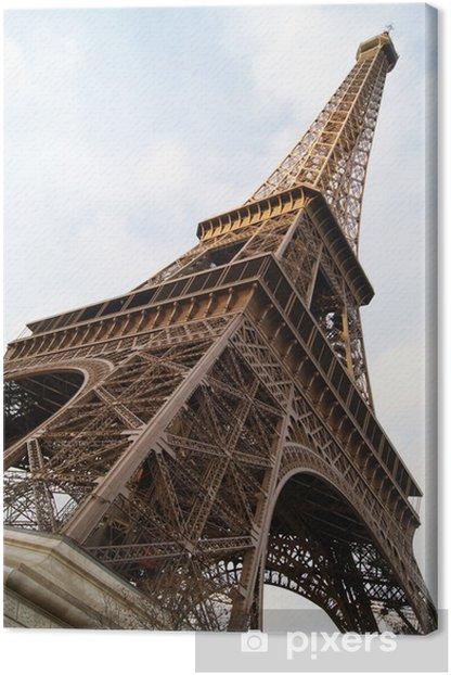 Tableau sur toile La Dame de Fer - Monuments
