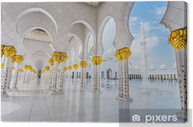 Tableau sur toile La mosquée Cheikh Zayed - Propriétés privées