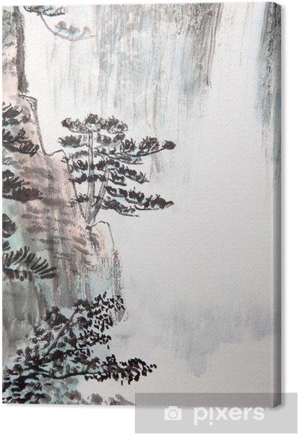 Tableau sur toile La peinture traditionnelle chinoise ...