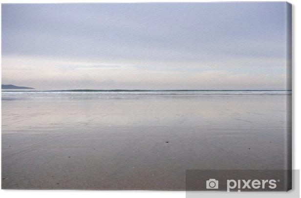 Tableau sur toile La plage Lancé, Pontevedra, Galice, Espagne - Vacances
