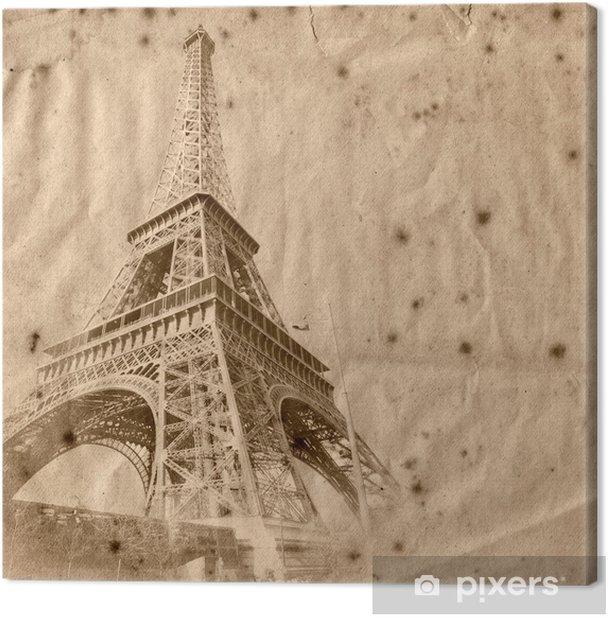 Tableau sur toile La tour eiffel de paris - Thèmes