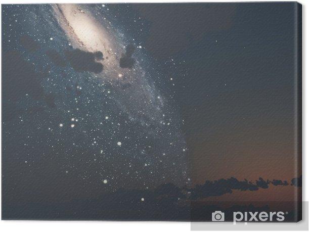 Tableau sur toile La voie lactée - Espace
