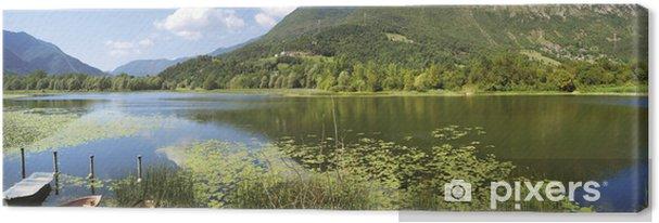 Tableau sur toile Lago di Garda Gaiano - Europe