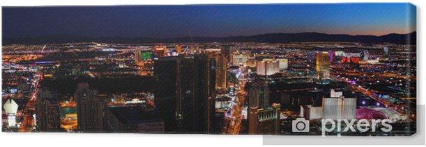 Tableau sur toile Las Vegas City skyline panorama - Las Vegas