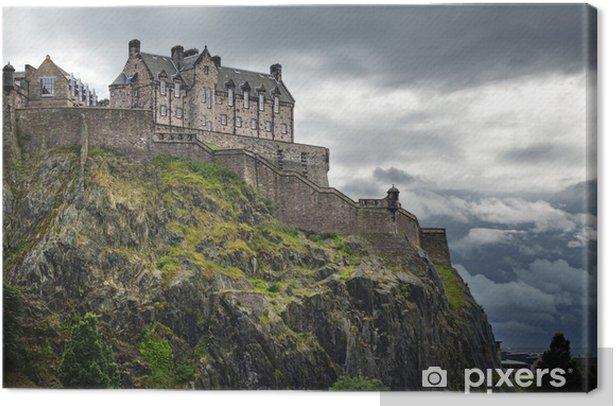 Tableau sur toile Le château d'Édimbourg, en Écosse - Thèmes