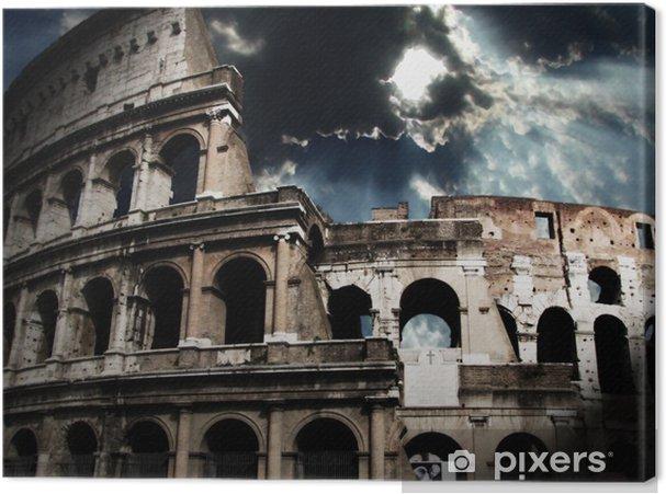 Tableau sur toile Le Colisée à Rome - Thèmes