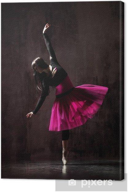 Tableau sur toile Le danseur - Thèmes