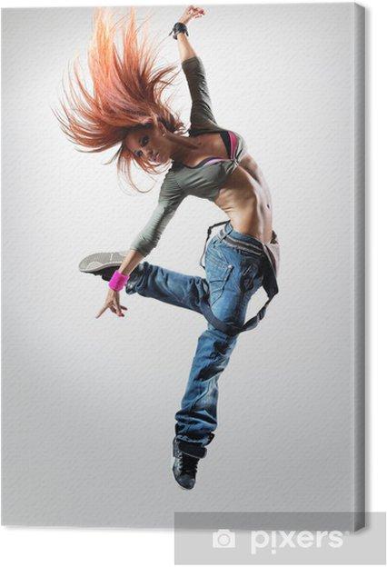 Tableau sur toile Le danseur -
