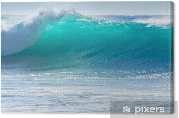Tableau sur toile Le déferlement des vagues sur le rivage de Madère - Thèmes