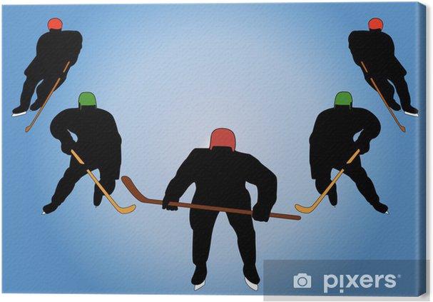 Tableau sur toile Le magnifique cinq - Sports individuels
