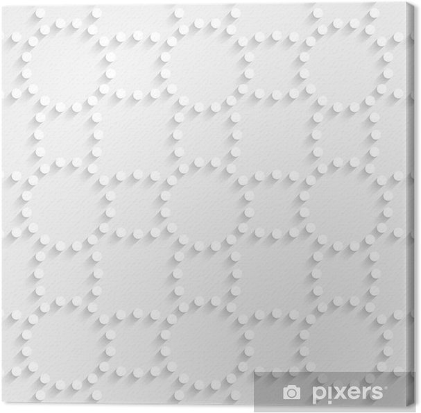 Tableau sur toile Le modèle de points sans soudure - Arrière plans