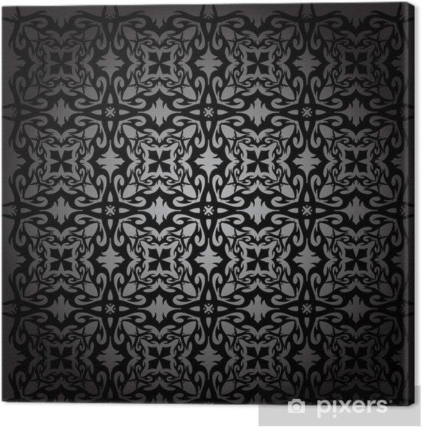Tableau sur toile Le motif est la géométrie - Arrière plans