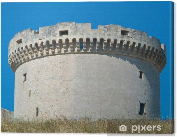 Tableau sur toile Le Tramontano Castle. Matera. Basilicate. - Vacances