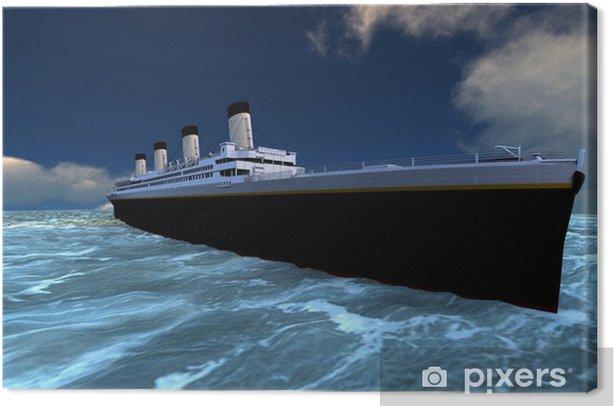 Tableau sur toile Les navires de croisière - Bateaux