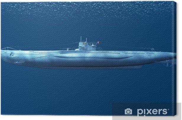 Tableau sur toile Les sous-marins - Bateaux