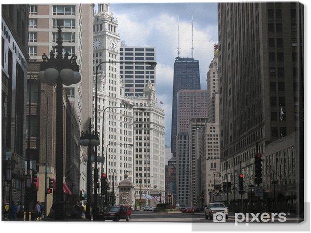 Tableau sur toile Les temps d'arrêt de Chicago - Thèmes
