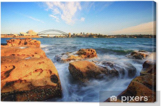 Tableau sur toile Lever à Sydney - Thèmes