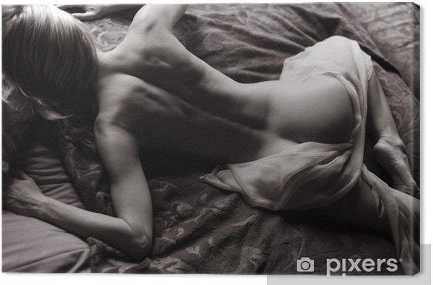 Tableau sur toile Liegender Akt - Nus féminins