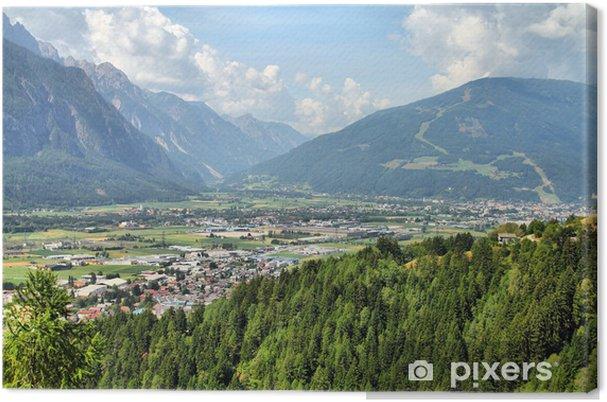 Tableau sur toile Lienz, Autriche - Montagne