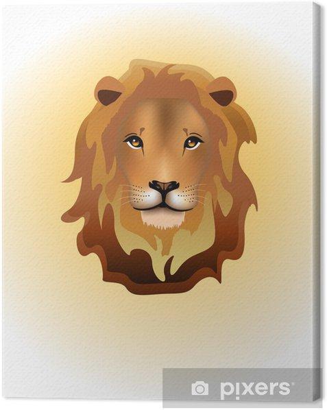 Tableau sur toile Lion - Mammifères